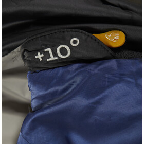 Nordisk Puk +10° Blanket Sacos de dormir XL, true navy/steeple gray/black